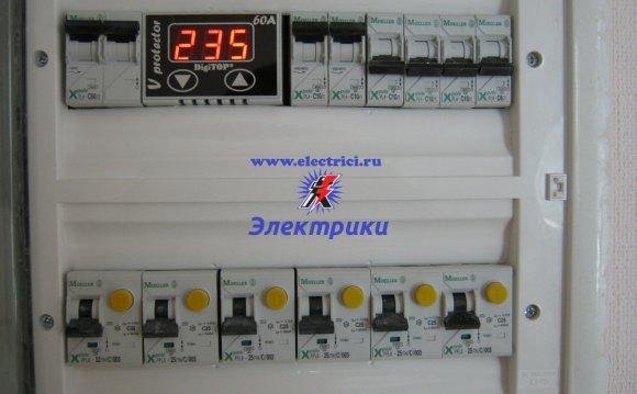 Прокладка электропроводки